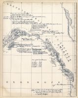 Map published at St. Petersburg in 1802, Alaska Map 1802 from Alaska Boundary Tribunal Atlas 1903 Maps from 1795 to 1903